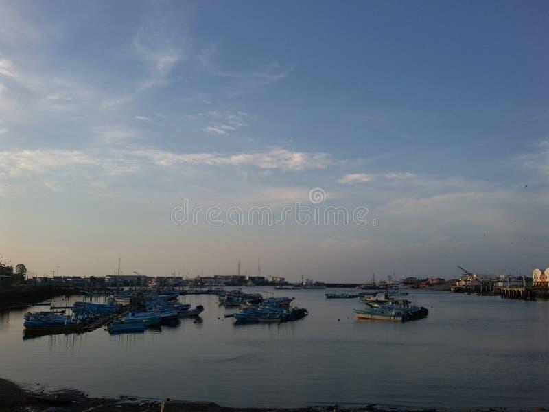 Βάρκες Esmeraldas στοκ φωτογραφία