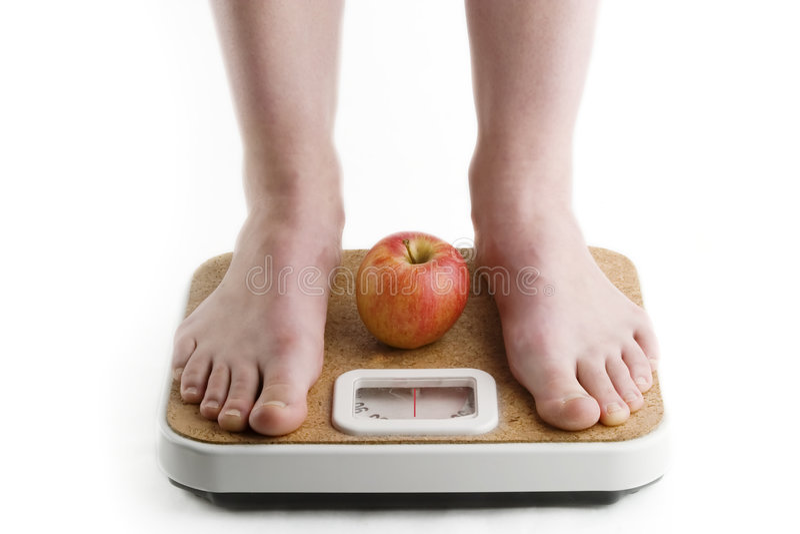 Download βάρος απώλειας στοκ εικόνα. εικόνα από διατροφή, θηλυκό - 385389