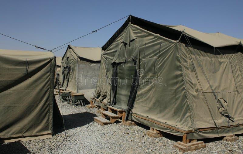 βάση του Αφγανιστάν στρατ&io στοκ εικόνα