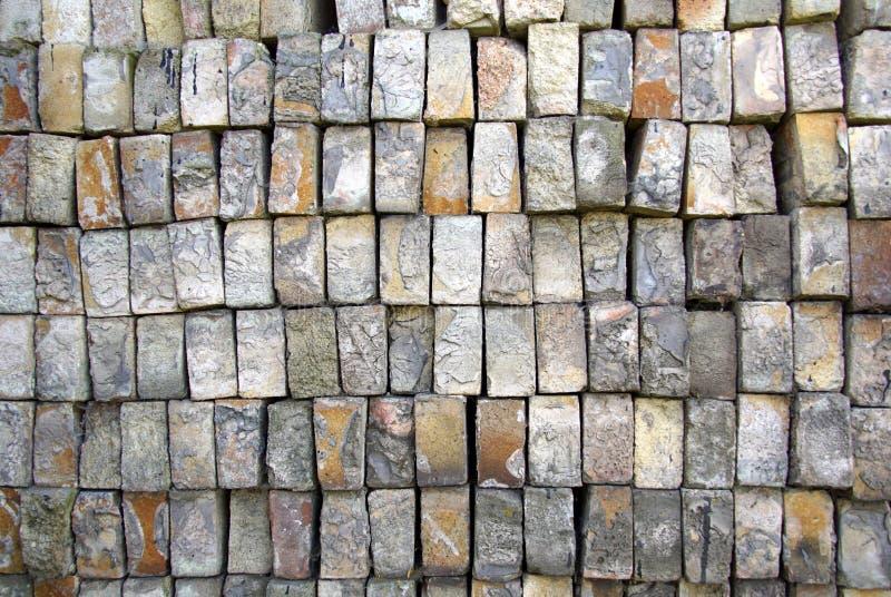 Βάση των παλαιών τούβλων στοκ εικόνες