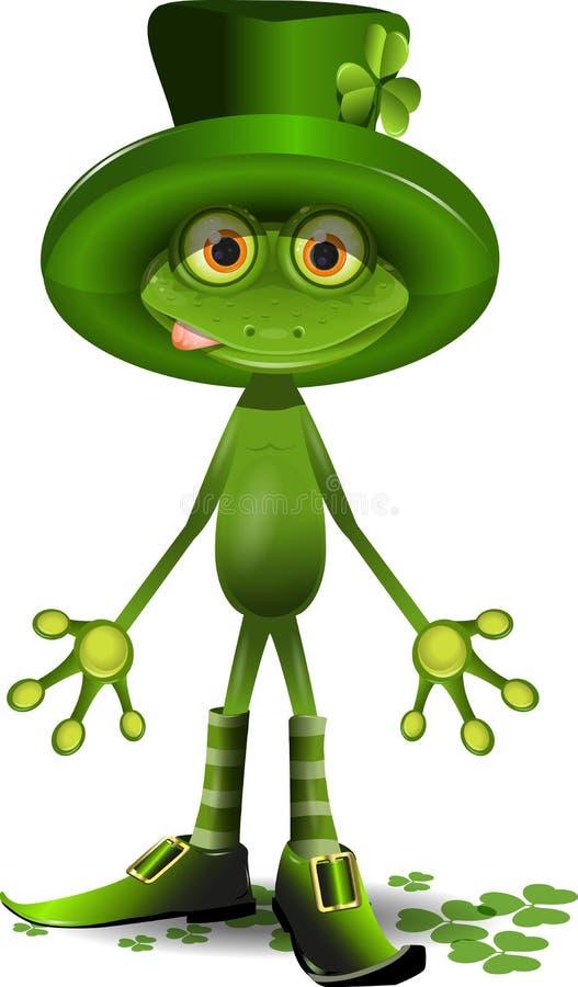 Download Βάτραχος και η ημέρα του ST Patricks Διανυσματική απεικόνιση - εικόνα: 28534534