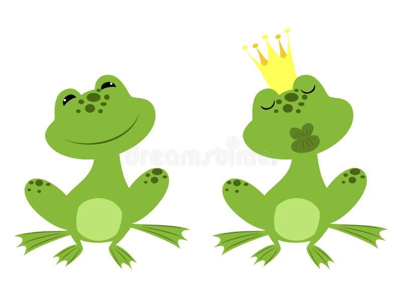 Βάτραχος πριγκήπων ελεύθερη απεικόνιση δικαιώματος