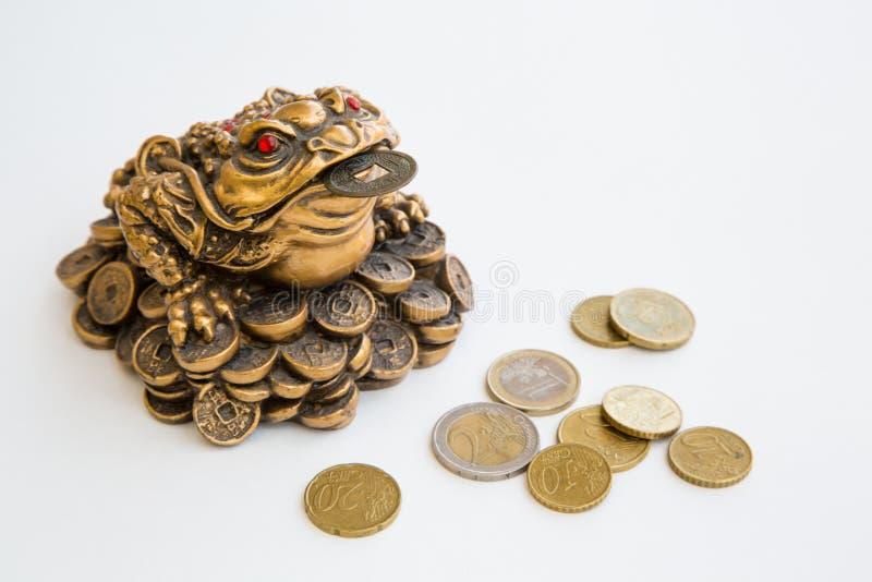 Βάτραχος χρημάτων στοκ εικόνες