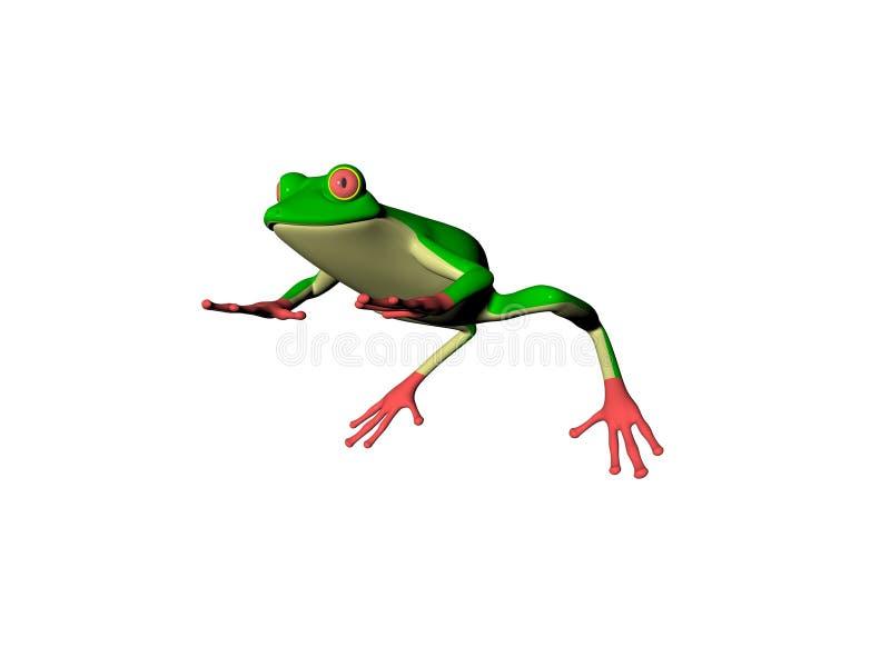 βάτραχος EL απεικόνιση αποθεμάτων