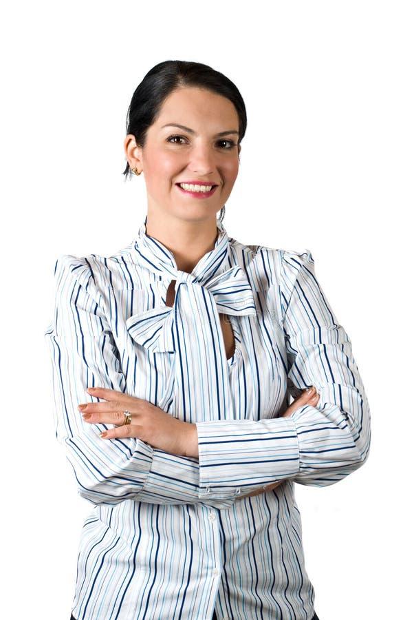 Βέβαια επιχειρησιακή γυναίκα στοκ εικόνες με δικαίωμα ελεύθερης χρήσης