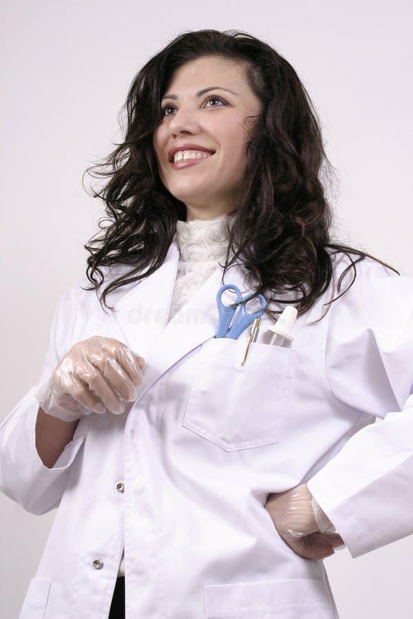 βέβαιος γιατρός επιτυχής στοκ φωτογραφία με δικαίωμα ελεύθερης χρήσης