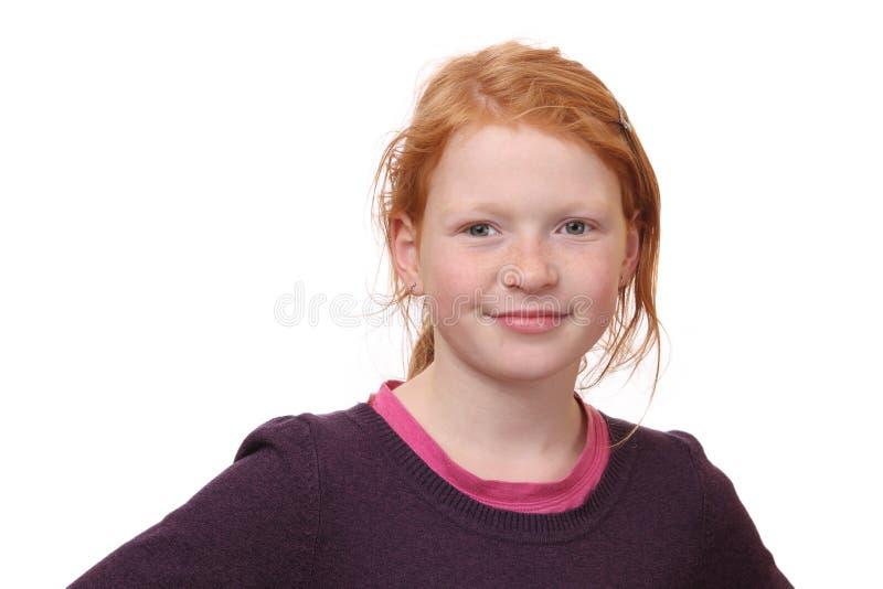 Βέβαιο κορίτσι στοκ εικόνα