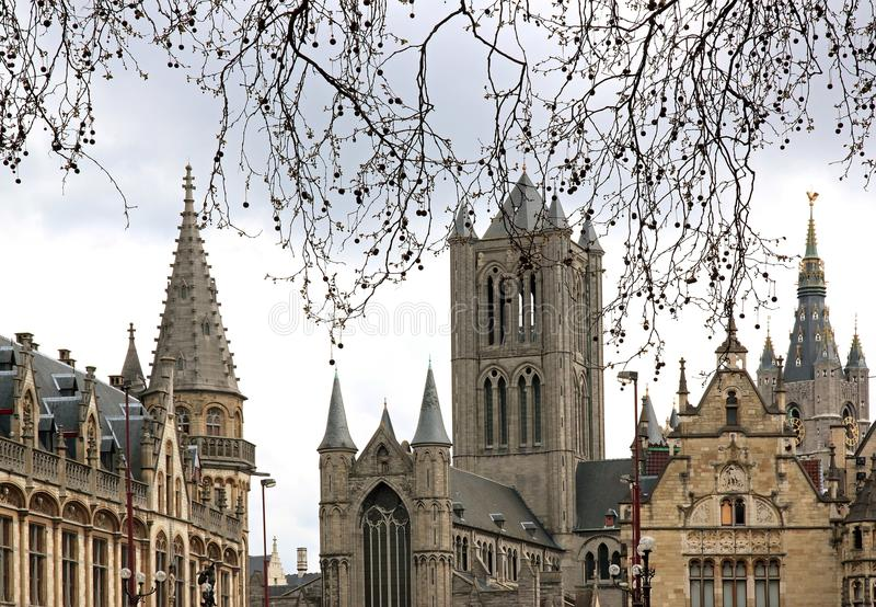 Βέλγιο Φλαμανδική περιοχή gent στοκ εικόνες με δικαίωμα ελεύθερης χρήσης