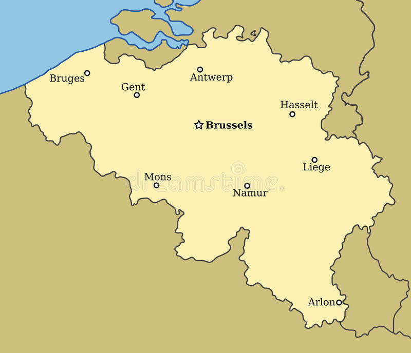 Βέλγιο απεικόνιση αποθεμάτων