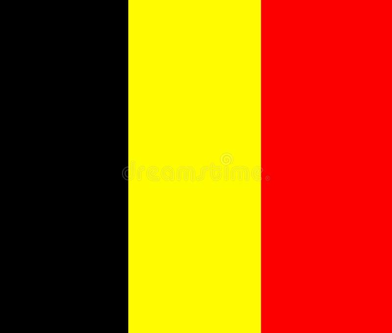 Βέλγιο διανυσματική απεικόνιση