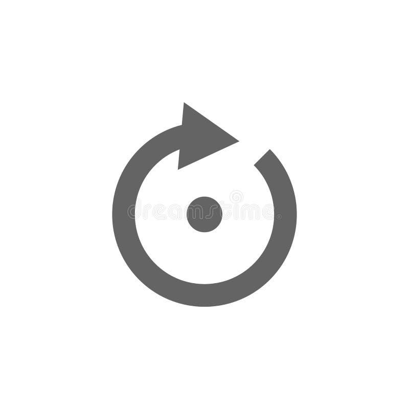 Βέλος, εικονίδιο σημείου Εικονίδιο βελών στοιχείων r Εικονίδιο συλλογής σημαδιών και συμβόλων για τους ιστοχώρους, Ιστός ελεύθερη απεικόνιση δικαιώματος