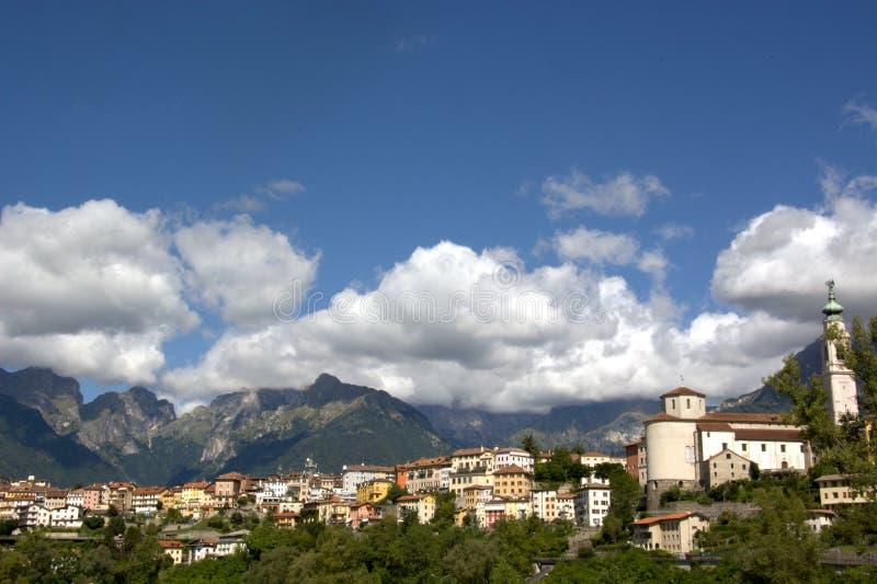 Βένετο, Ιταλία, Belluno στοκ φωτογραφίες