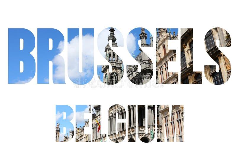 Βέλγιο Βρυξέλλες απεικόνιση αποθεμάτων
