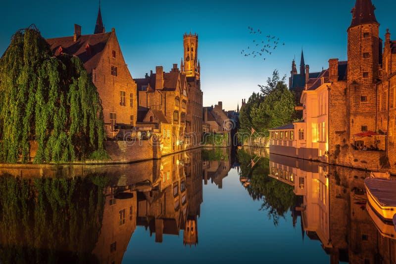 Βέλγιο Μπρυζ στοκ εικόνα με δικαίωμα ελεύθερης χρήσης