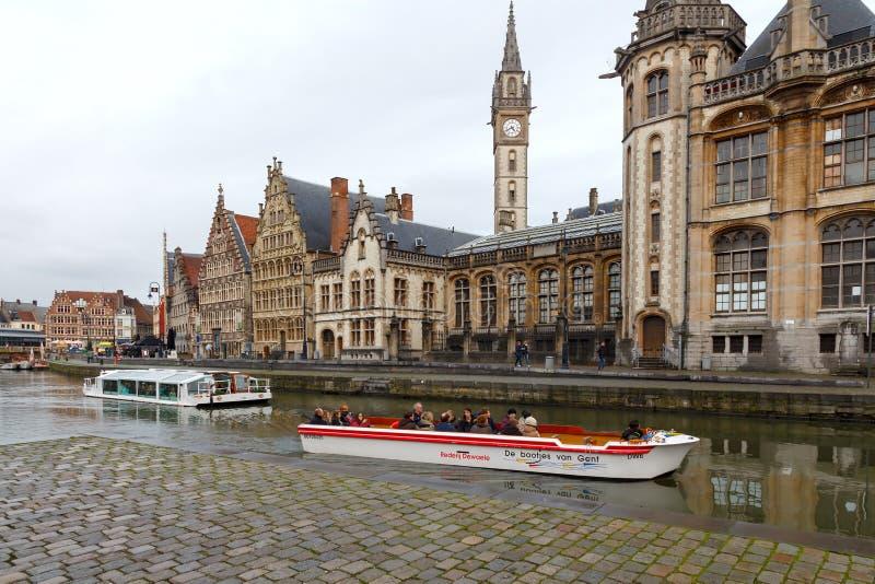 Βέλγων gent στοκ εικόνες