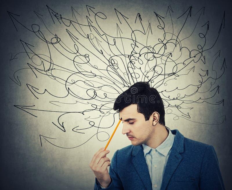Βέλη που δραπετεύουν τις σκέψεις στοκ φωτογραφία