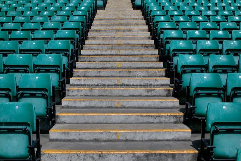βήματα αθλητικών σταδίων στοκ φωτογραφία με δικαίωμα ελεύθερης χρήσης