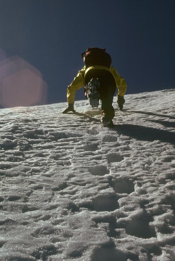 βήματα λακτίσματος ορειβατών στοκ φωτογραφίες με δικαίωμα ελεύθερης χρήσης
