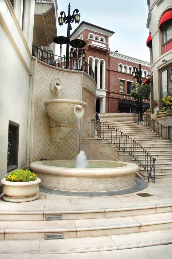 βήματα ροντέο λόφων της Beverly μέσ στοκ φωτογραφία με δικαίωμα ελεύθερης χρήσης