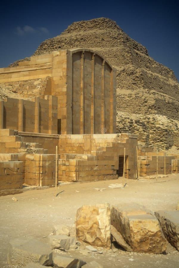 βήμα πυραμίδων zoser στοκ φωτογραφίες