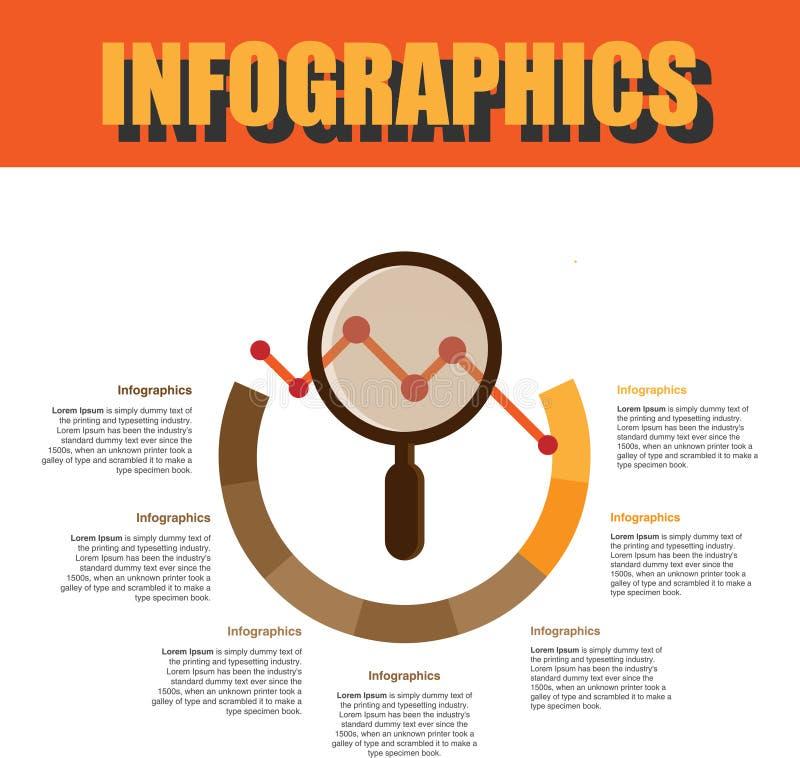 Βήμα Infographics διαδικασίας στοκ φωτογραφία με δικαίωμα ελεύθερης χρήσης