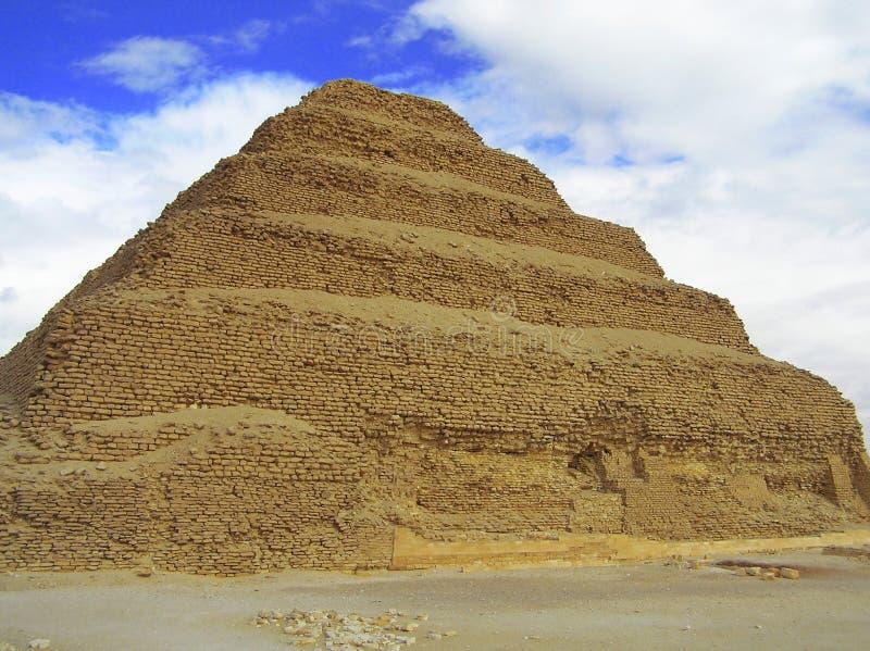 βήμα sakkara πυραμίδων στοκ εικόνες