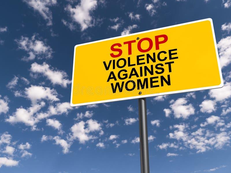 Βία στάσεων κατά των γυναικών στοκ εικόνες με δικαίωμα ελεύθερης χρήσης