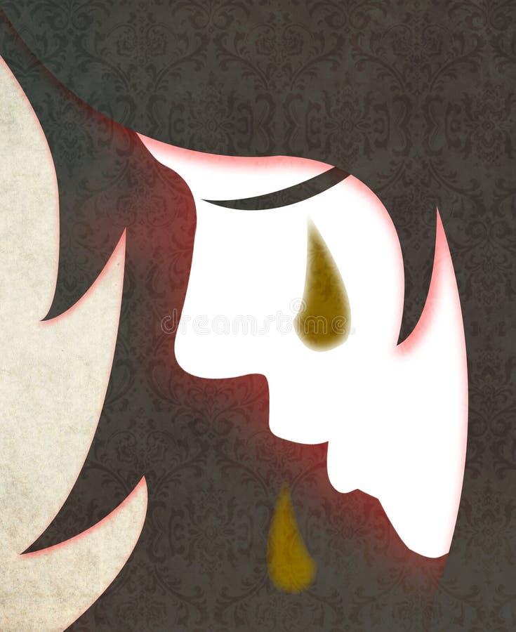 Βία στάσεων κατά των γυναικών ελεύθερη απεικόνιση δικαιώματος