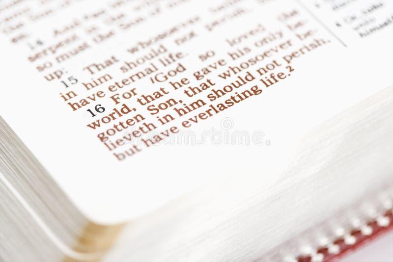 Βίβλος θρησκευτική στοκ εικόνες με δικαίωμα ελεύθερης χρήσης