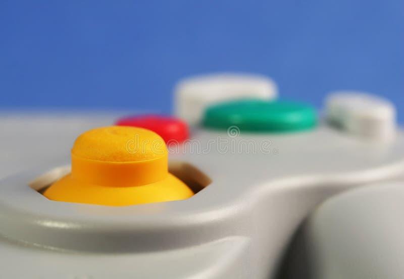 βίντεο παιχνιδιών ελέγχων στοκ φωτογραφία