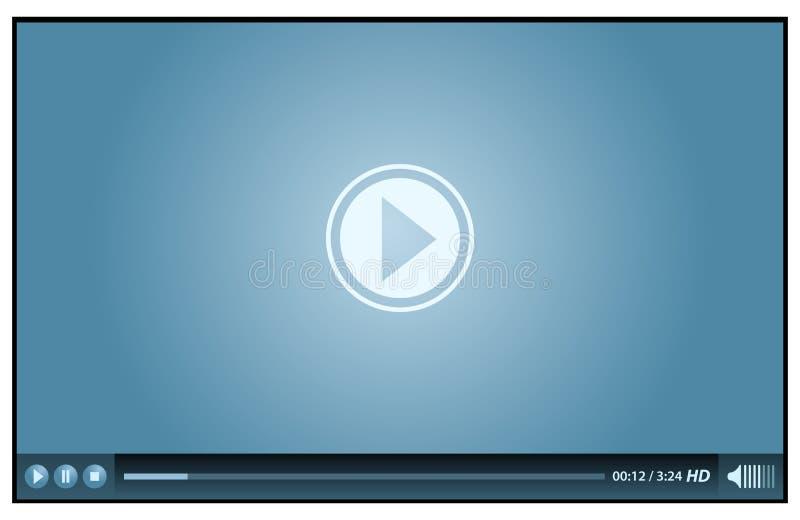 βίντεο φορέων ελεύθερη απεικόνιση δικαιώματος