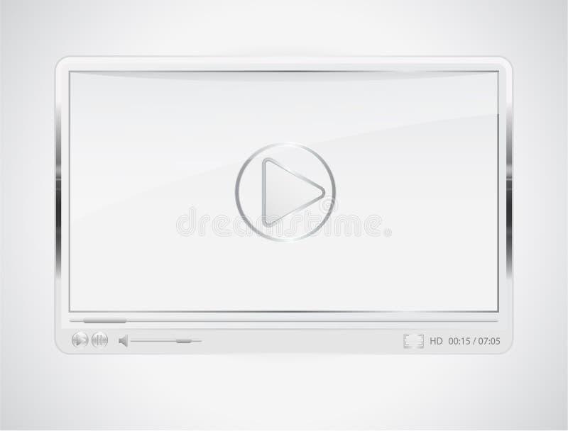 βίντεο φορέων διανυσματική απεικόνιση