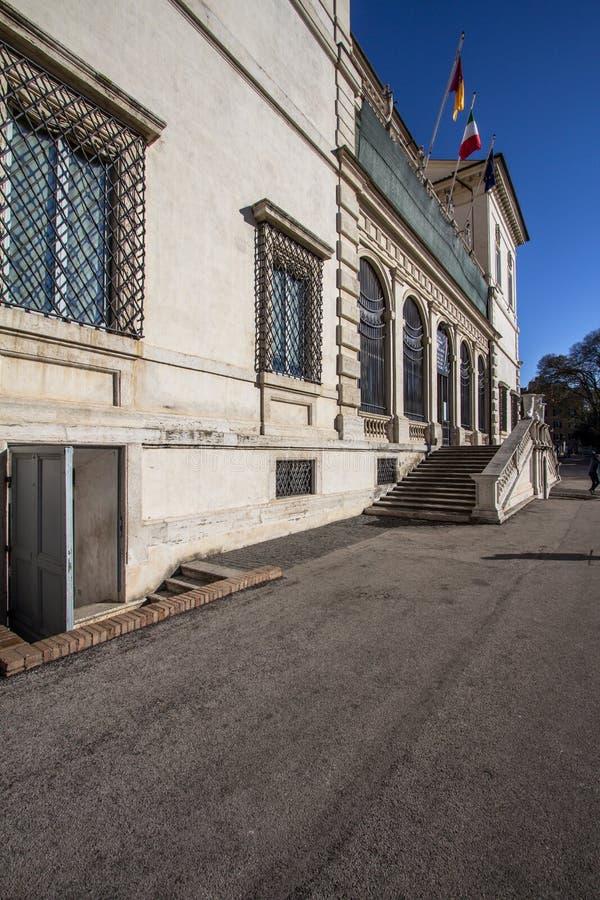 Βίλα Borghese Galleria Borghese, Ρώμη στοκ εικόνες