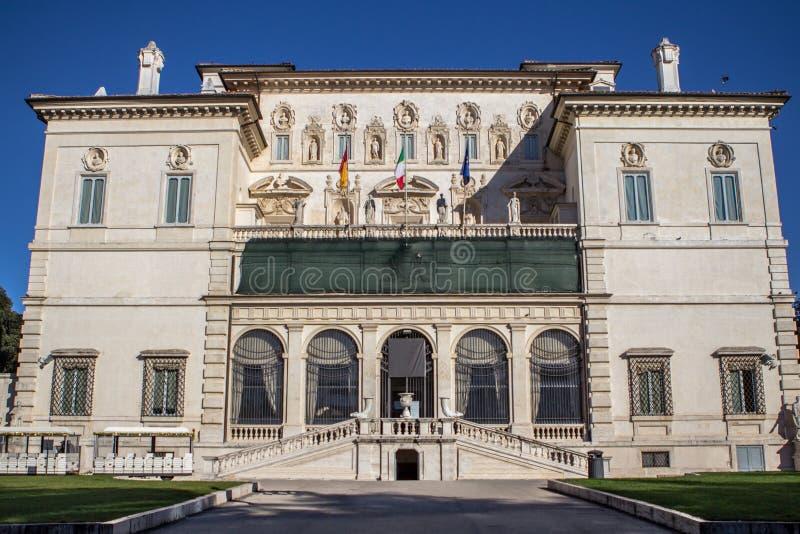 Βίλα Borghese Galleria Borghese, Ρώμη στοκ φωτογραφία με δικαίωμα ελεύθερης χρήσης