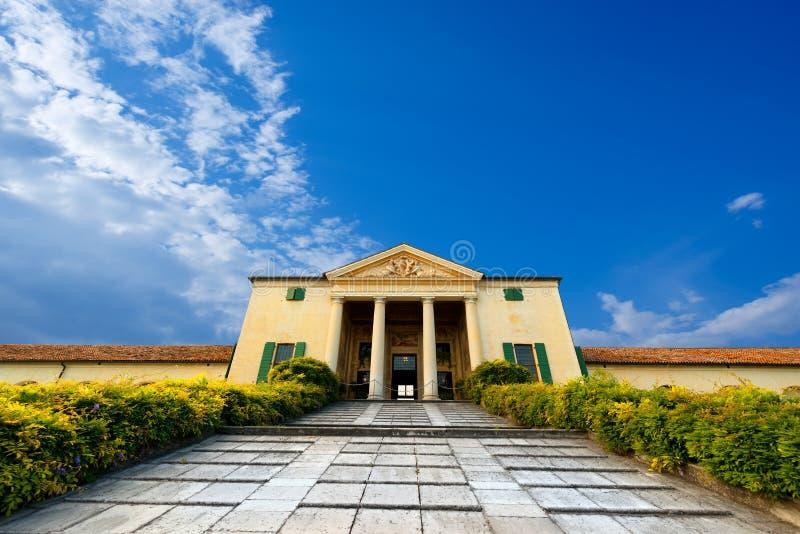 Βίλα Emo - Fanzolo Treviso Ιταλία στοκ εικόνες με δικαίωμα ελεύθερης χρήσης