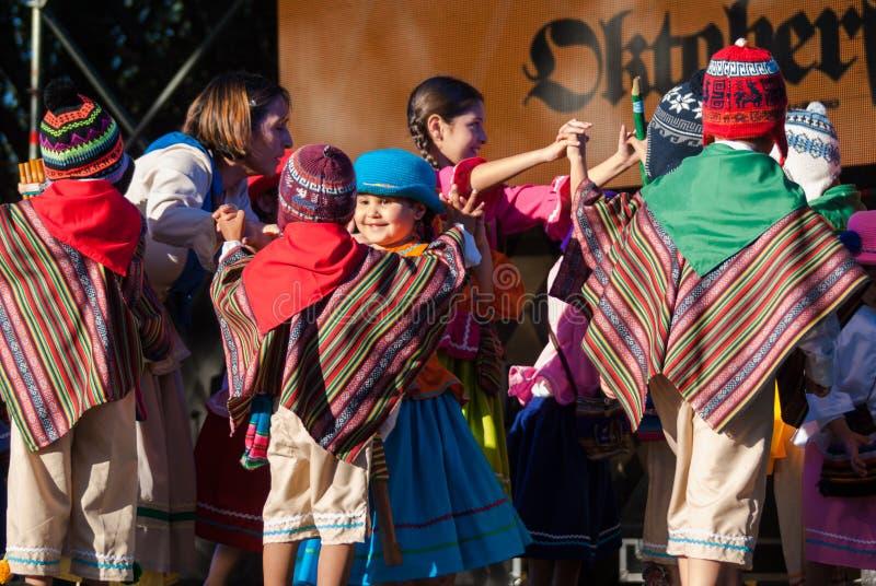 Βίλα Oktoberfest στρατηγός Belgrano 2016 στοκ εικόνες