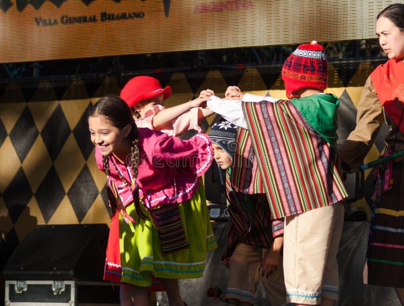 Βίλα Oktoberfest στρατηγός Belgrano 2016 στοκ εικόνα