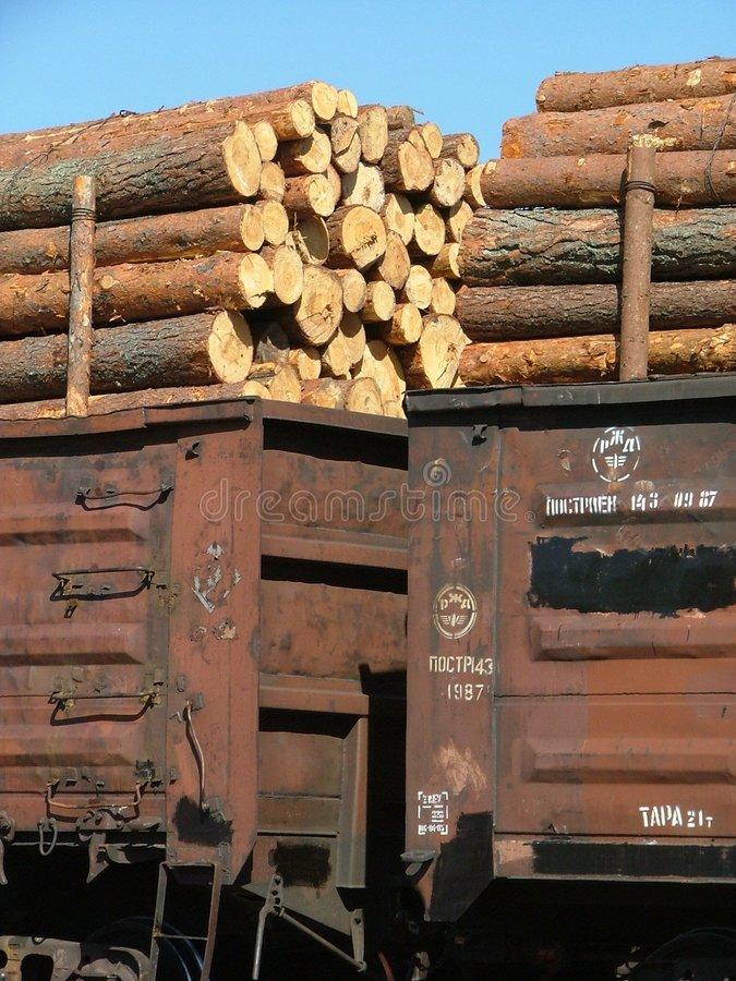 Download βαγόνια εμπορευμάτων φορτίου Στοκ Εικόνα - εικόνα: 124823