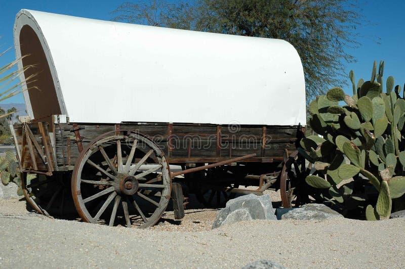 βαγόνι εμπορευμάτων ερήμω& στοκ φωτογραφίες
