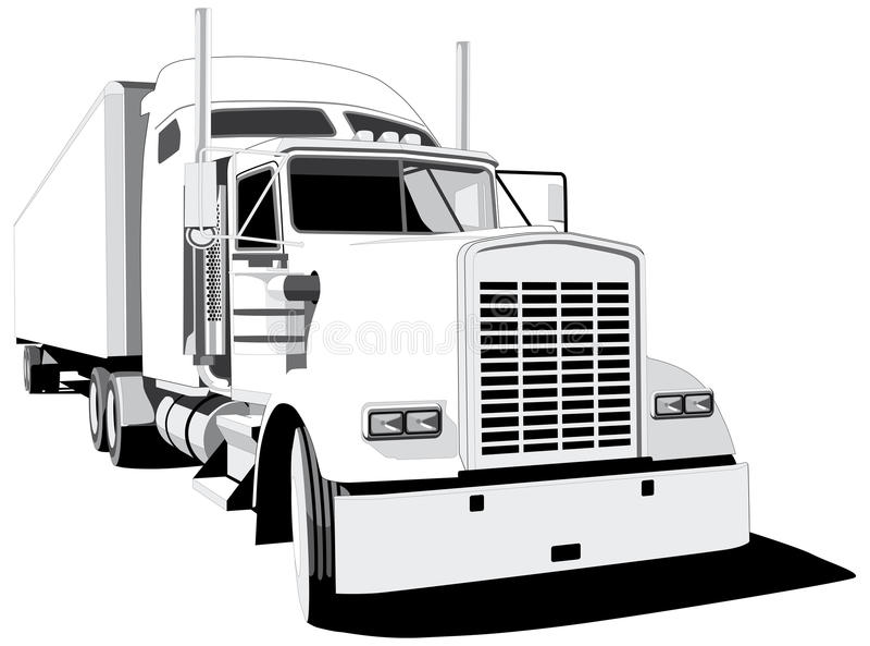 βαγόνι εμπορευμάτων διανυσματική απεικόνιση