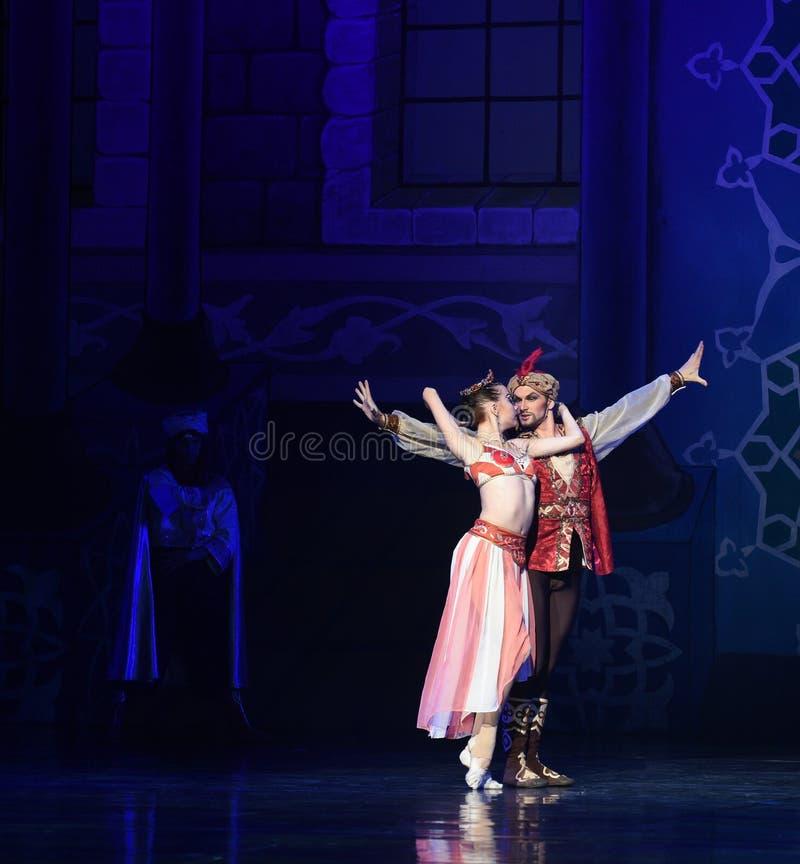 """Βαθειά γοητευμένος και συνδεμένος με κάθε άλλο μπαλέτο """"One χίλιο και ένα Nights† στοκ εικόνες με δικαίωμα ελεύθερης χρήσης"""