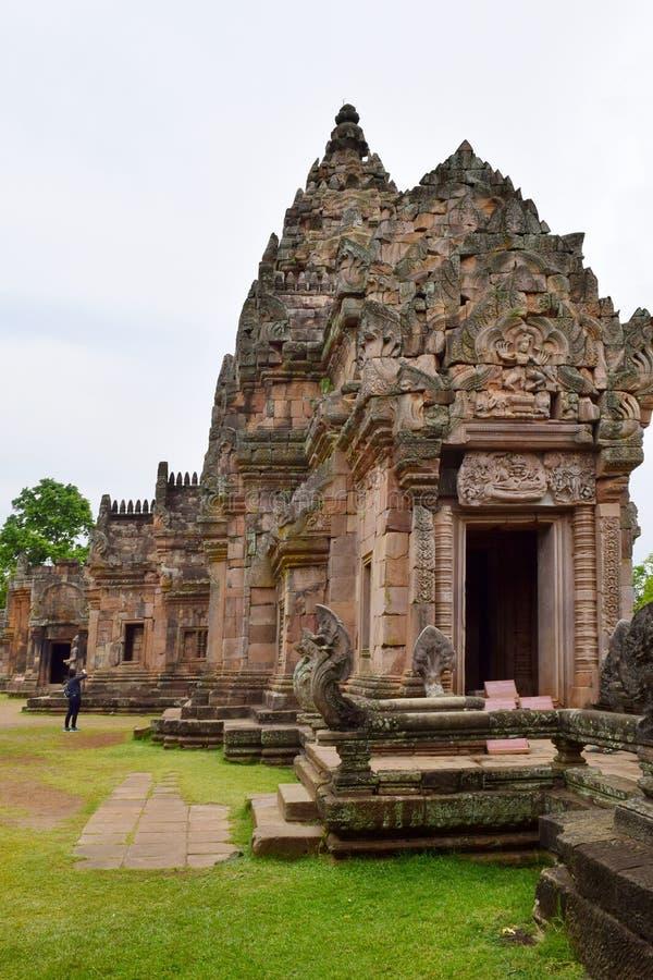 Βαθμίδα Castle, η παλαιότερη θέση Phanom Khao στην ιστορία σε Buriram, Ταϊλάνδη στοκ φωτογραφία με δικαίωμα ελεύθερης χρήσης