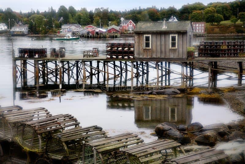 βαθύ λιμάνι Maine στοκ φωτογραφίες με δικαίωμα ελεύθερης χρήσης