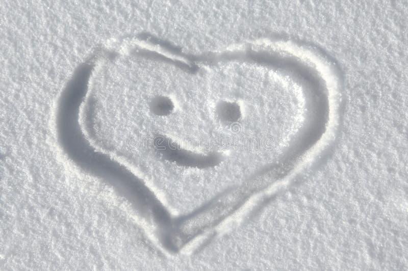 βαθύ χιόνι μηνυμάτων στοκ εικόνες