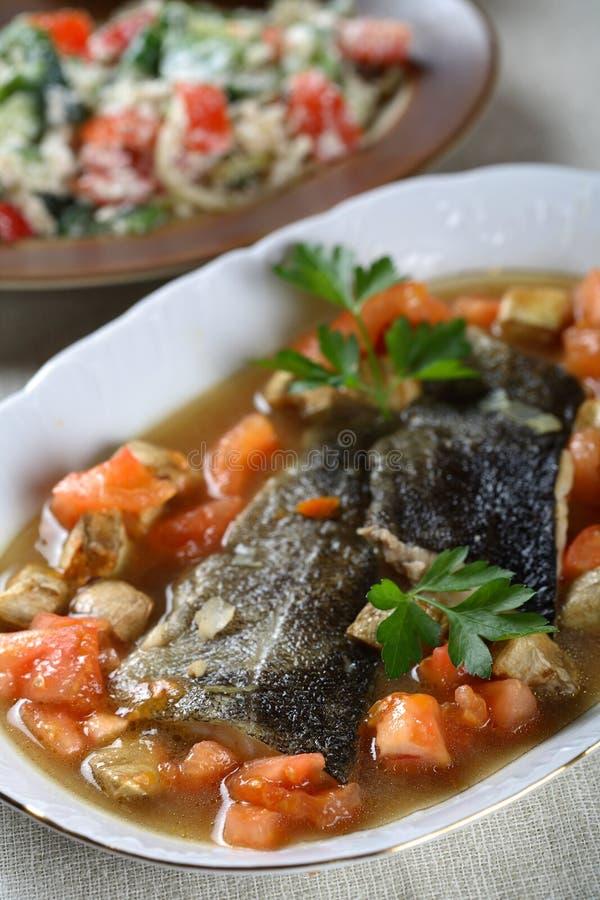 βακαλάος που μαγειρεύ&epsi στοκ φωτογραφίες με δικαίωμα ελεύθερης χρήσης