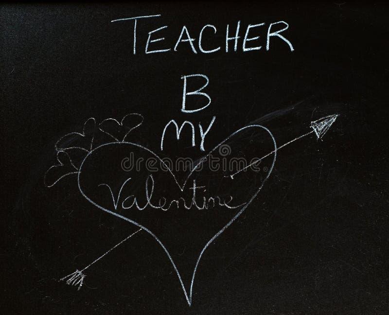 βαλεντίνος δασκάλων στοκ φωτογραφίες με δικαίωμα ελεύθερης χρήσης