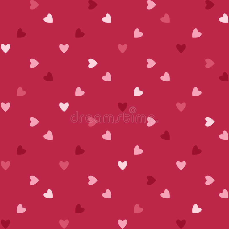 βαλεντίνος καρδιών απεικόνιση αποθεμάτων