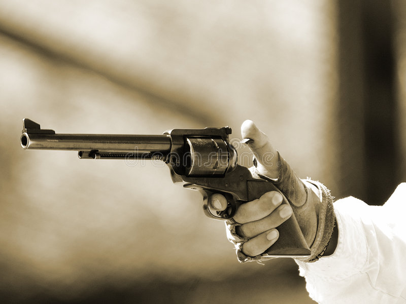 Download βαμβακερό ύφασμα 5 Gunfighter Στοκ Εικόνα - εικόνα από sidearm, χέρι: 95941