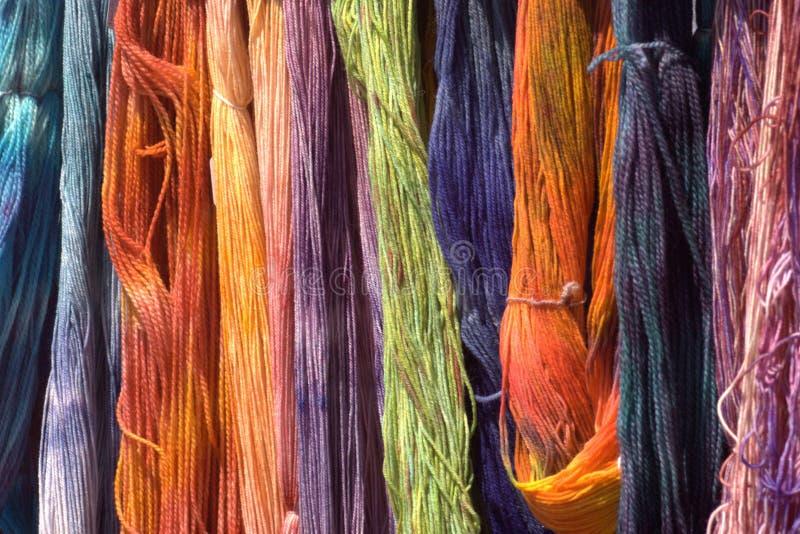 βαμμένο δίκαιο αγροτικό μαλλί στοκ φωτογραφία με δικαίωμα ελεύθερης χρήσης