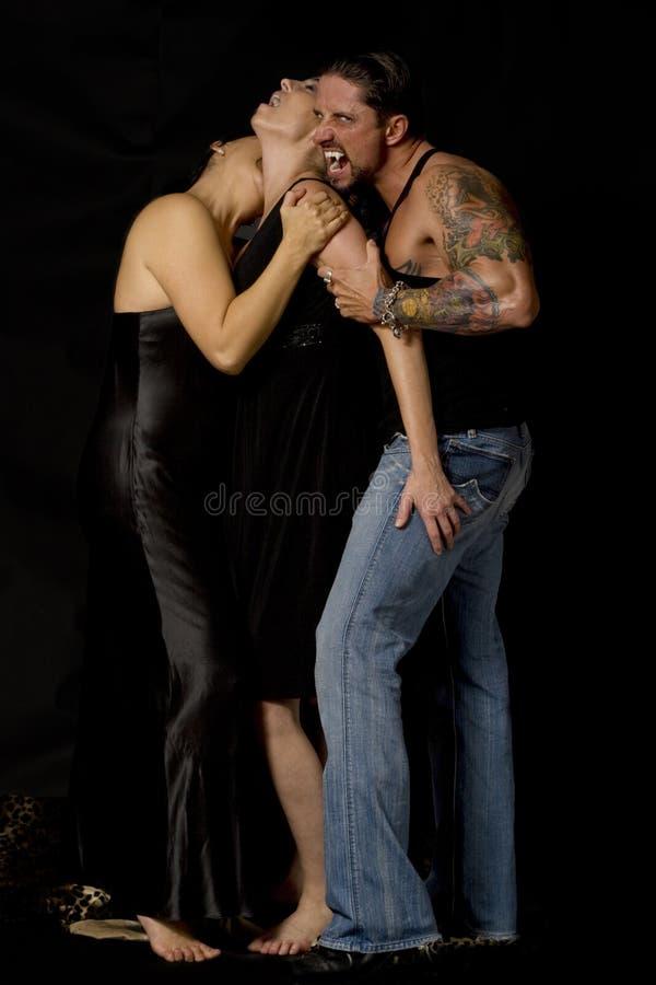 βαμπίρ δαγκωμάτων στοκ φωτογραφία με δικαίωμα ελεύθερης χρήσης